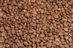 Coffee Beans. Roasted coffee beans as background Stock Images