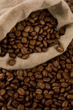 Coffee beans. Close up of coffee beans Royalty Free Stock Photos