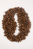 Coffee beans. Close up of coffee beans Royalty Free Stock Photo