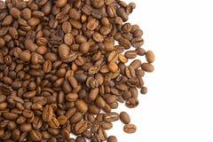 Coffee beans. On white Royalty Free Stock Photos