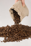 Coffee beans. Close up of coffee beans Royalty Free Stock Photography