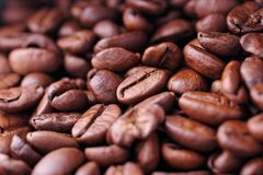 Coffee Beans. Background Stock Photos