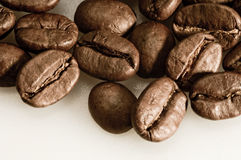 Coffee Beans. A background with coffee beans Royalty Free Stock Photos