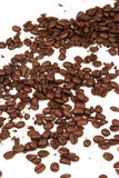 Coffee Beans. On a white background Royalty Free Stock Images