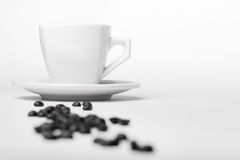 Coffee & beans Stock Photography
