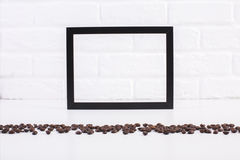 Free Coffee Beans And Blank Frame Stock Photo - 73857190