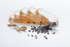 Coffee beans art work background Royalty Free Stock Photo