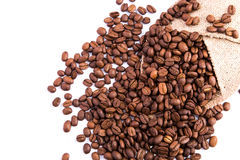 Coffee Beans As A Background Stock Photos