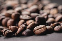 Coffee beans are the background. Coffee beans are the background Stock Photos