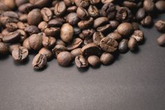 Coffee beans are the background. Coffee beans are the background Royalty Free Stock Photos