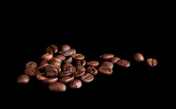 Coffee beans background Stock Image