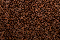 Coffee beans background Royalty Free Stock Photos