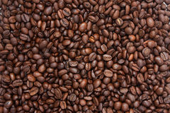 Coffee beans background. Photo of coffee beans background Stock Photo