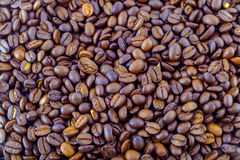 Coffee beans background. Royalty Free Stock Photos