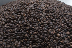 Coffee beans. Background, background made as Royalty Free Stock Photography