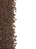 Coffee Beans Background or Border Royalty Free Stock Images