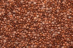 Coffee beans background. Stock Photography