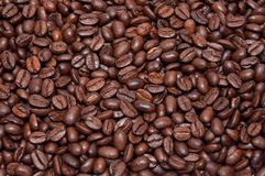 Coffee beans background Stock Photos