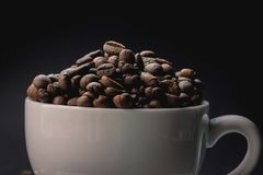 Coffee beans are the background. Coffee beans are the background Stock Images