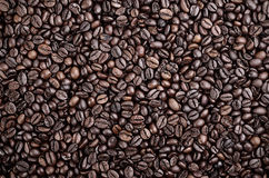 Coffee beans for background Stock Photos