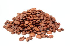 Coffee Beans Background Stock Photos