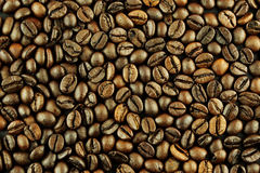 Coffee beans background texture Royalty Free Stock Photography
