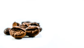 Coffee beans. Background with coffee beans texture Royalty Free Stock Photography