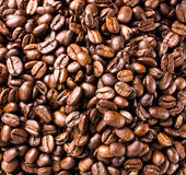 Coffee beans  background or texture high resolution, closeup Stock Photos