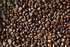 Coffee beans background texture Stock Images