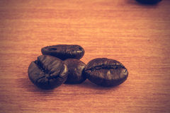 Coffee beans background - Vintage effect style pictures Stock Photo
