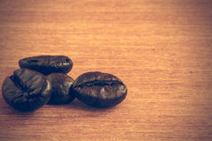 Coffee beans background - Vintage effect style pictures Royalty Free Stock Photography