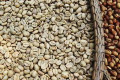 Coffee beans for backgrounds Royalty Free Stock Images
