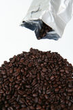 Coffee Beans From Bag Stock Images