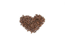 Coffee beans. Bean break, cofee espresso  natural Stock Photo