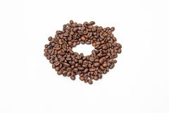 Coffee beans. Bean break, cofee espresso  natural Royalty Free Stock Images