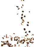 Coffee beans, bouncing Royalty Free Stock Photo