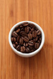 Coffee beans in a bowl Stock Image