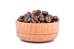 Coffee beans in a bowl Stock Photos