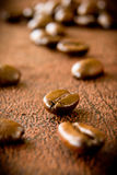 Coffee beans stock image