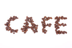 Coffee beans cafe Royalty Free Stock Photos