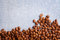 Coffee Beans. Close uo photograph of some fresh coffee beans stock photography