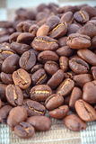 Coffee beans close-up Royalty Free Stock Images