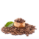 Coffee beans close up Royalty Free Stock Photography
