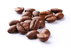 Coffee beans. The Coffee beans close-up Royalty Free Stock Photo