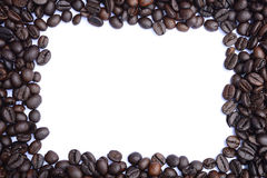 Coffee beans close-up background Royalty Free Stock Photo