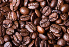 Coffee beans. close up for background and texture Stock Photo