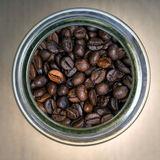 Coffee beans. Close up of coffee bean Royalty Free Stock Images