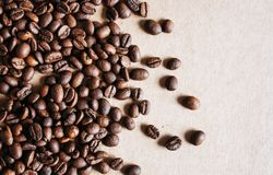 Coffee beans close up. stock photos