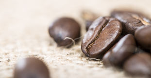 Coffee Beans (close-up shot Royalty Free Stock Photography