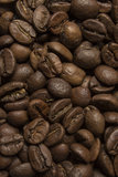 Coffee beans close up texture Royalty Free Stock Images